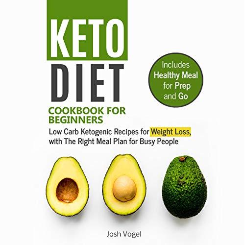 Keto Diet Cookbook for Beginners audiobook cover art