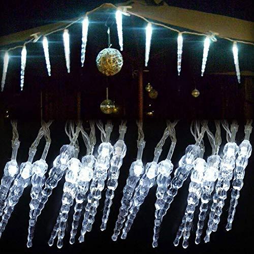 LED Frozen Icicle String Lichtsnoer Indoor Outdoor kersttuin lampen