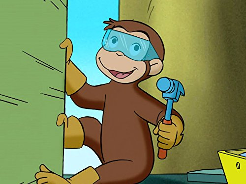 Up A Tree/Curious George and the Trash