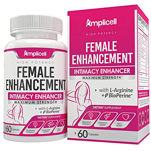 Female Enhancement (60caps) - Libido Booster for Women - Testosterone Hormone Balance for Women - Intimacy & Mood Support - Natural Female Sexual Enhancement Pills with Dong Quai, Ginseng & Maca Root
