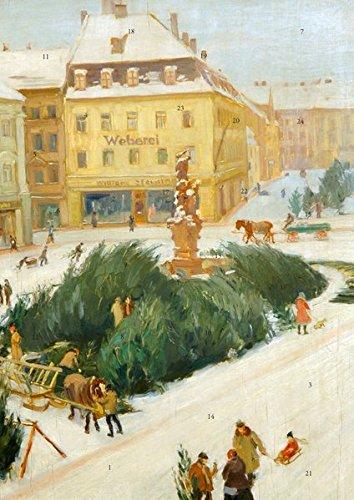 Winter auf der Zittauer Neustadt: Adventskalender