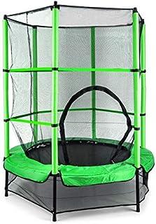 comprar comparacion Klarfit Rocketkid • trampolín • adaptado al jardín • Para Los Niños De Más De 3Años) • florido • superficie de salto de 1...