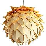 Yellow Harlekin, Ø 35cm, Papierlampe Hängelampe Lampe Lampenschirm Pendellampe Designerlampe...