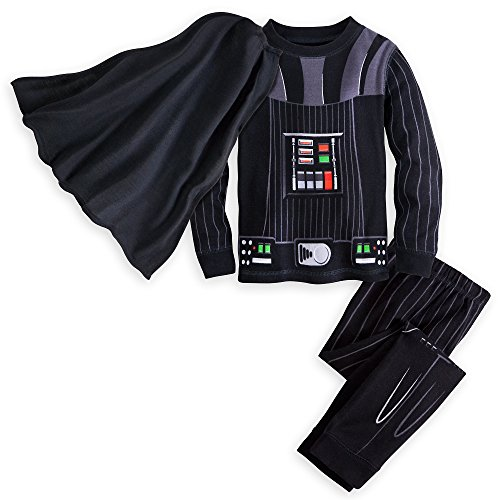 Star Wars Darth Vader Costume PJ PALS for Boys Size 4