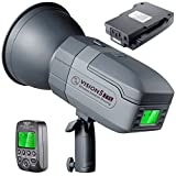 Neewer Vision5 400W TTL for Nikon HSS Outdoor Studio Flash Strobe with 2.4G System and Wireless Trigger,2 Packs Li-ion Battery(up to 500 Full Power Flashes),German Engineered,3.96 Pounds,Bowens Mount