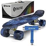Skatro - ミニクルーザースケートボード。レトロスタイルの22x6inchプラスチックボードが完成