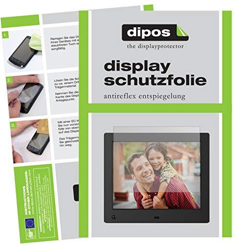dipos I 6X Schutzfolie matt kompatibel mit NIX Advance 8 Zoll Digitaler Bilderrahmen Folie Displayschutzfolie