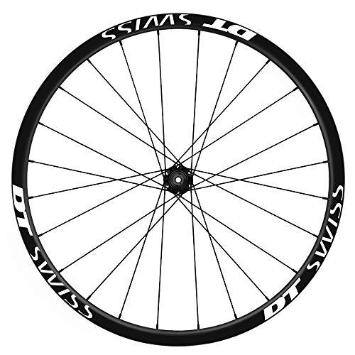 Pegatinas Llantas Bicicleta 29' WH38 DT Swiss VINILOS Ruedas Blanco