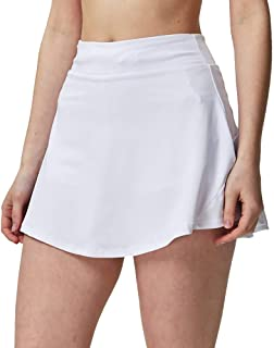 Sobrisah Women's Lightweight Athletic Skort Quick Dry Active Exercise Tennis Golf Running Skirt with Pocket