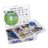 KOOKYE Completar Principiante Aprendizaje Kit para Arduino con UNO R3 Card y CD Tutorials
