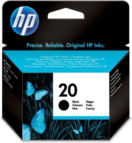 HP C6614DE Cartuccia Inkjet 20, Nero