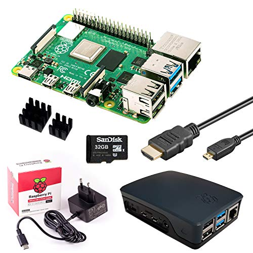 InnoConnect Raspberry Pi 4 (2GB RAM) Bundle 32GB, schwarz