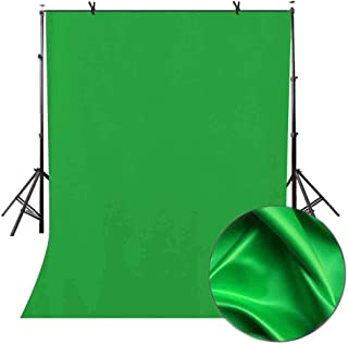 LYLYCTY 5x7ft Green Screen Key Backdrop Soft Pure Green Studio Background ID Photo Photography Backdrop Photo Backdrops Customized Studio Photography Backdrop Background Studio Props LY166