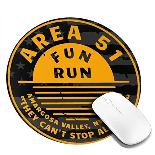 Area 51 Fun Run Mauspads Rutschfestes Gaming-Mauspad-Mauspad für Arbeiten, Spielen und andere Unterhaltung