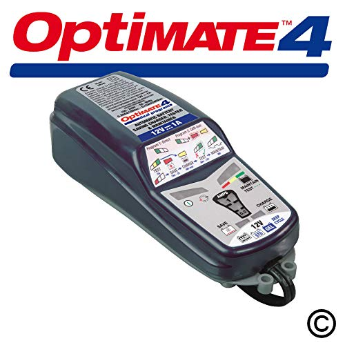 Optimate 4 TM340 : Chargeur de batterie moto 12V/1A