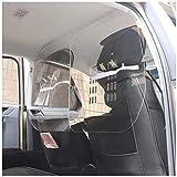 くしゃみガードボードコンパートメントパーティションセキュリティバリアドライバー助手席保護透明アクリル感染を減らすバクテリア保護自動車/商業