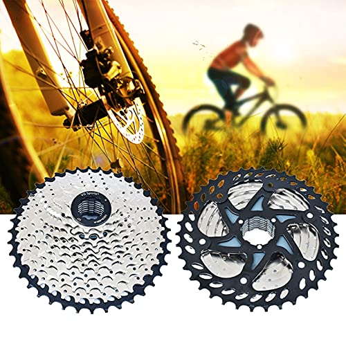Rueda Libre Bicicleta, Cassette Piñones, Ligero Rueda Libre 11V para MTB Bicicleta de Carretera Compatible con Shimano Sram (Excepto Sram XD),Silver 11s 11~40t