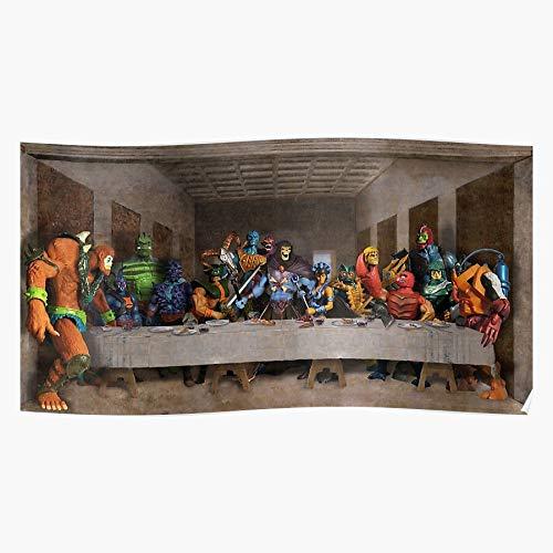 Two Spikor Whip Triclops Lash Bad Lyn Webstor Evil Beastman Skeletor Home Decor Wall Art Print Poster 7!