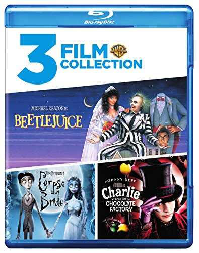 Beetlejuice / Charlie & Chocolate Factory / Tim [Blu-ray]