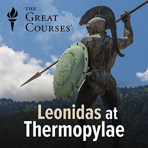 Leonidas at Thermopylae audiobook cover art