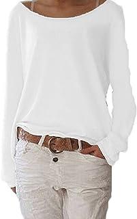 Zioer - Jersey de manga larga para mujer