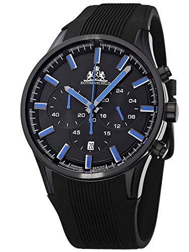 Rothenschild Voyager RS-1311-IB-Bl Chrono blau 44 mm 10ATM