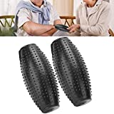 2 elettrodo elettrico per massaggi per strumenti di fisioterapia, adatto per persone di media età e anziani.