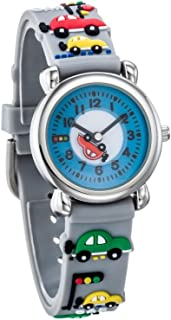 Varyar Kids Mini Car Time Teacher Quartz Wrist Watch