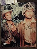 Fess Parker and Buddy Ebsen Autographed Photo
