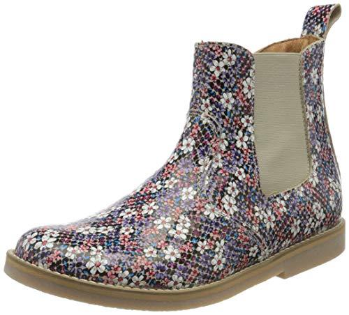 Froddo Mädchen G3160117 Girls Chelsea Boots, Mehrfarbig (Flowers I75), 25 EU