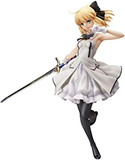 HTQING Fate/Stay Night Saber Lily Figura 9 Pulgadas de PVC