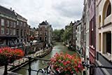 Zopix Poster Utrecht Stadt Niederlande Gracht Wandbild -
