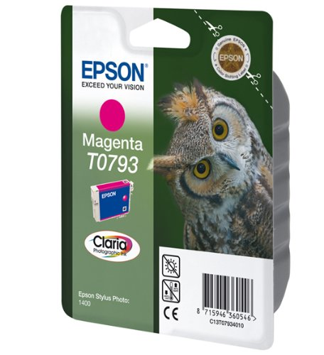 Epson T0793 Tintenpatrone Eule, Singlepack magenta