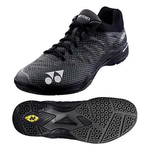 YONEX Zapatos Aerus Power Cushion para Hombre, Hombre, Zapatos, SBA3MBK11, Negro, 10,5 UK