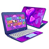 MightySkins Skin Compatible with HP Stream 11' (2014) - Purple Heart | Protective, Durable, and Unique Vinyl Decal wrap Cover | Easy to Apply, Remove, and Change Styles | Made in The USA