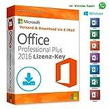 MS Office 2016 Professional Plus LIZENZ KEY - vorab E-Mail