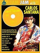 JAM WITH SANTANA CARLOS + CD: (Guitar Tab) (Jam With The Guitar Greats)
