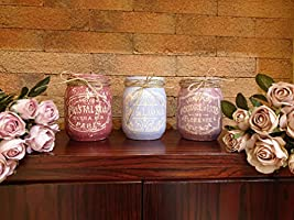 Set Vasi Provenzali - Shabby - Idea Regalo, Idea Decorativa