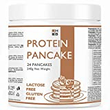 PANCAKE PROTEICI H|B gusto NATURAL | Preparato per 24 PANCAKES LACTOSE FREE e GLUTEN FREE | 48% Proteine | La soluzione per una perfetta colazione proteica!