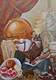 Still life. It is time for a new journey. Handmade original oil painting on canvas. Size 50x70 cm. 2014 by Svetlana Guchshina.
