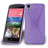 Cadorabo Case works with HTC Desire 626 in PASTEL PURPLE -