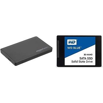 AmazonBasics Caja para Disco Duro SATA, 2,5 Pulgadas (6,35 cm ...