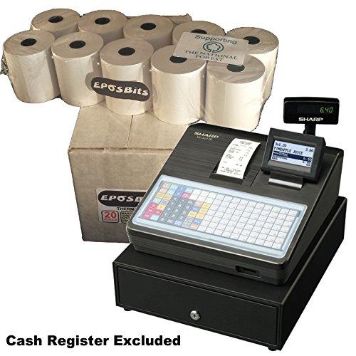 eposbits® Marke Rollen zu für Sharp xe-a217b xea-217b xea217b xea217xe-a217xea-217B Cash Register?20Rollen