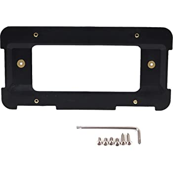 GTP Rear License Plate Base Mount Bracket for BMW 1/2/3/4/5/6 Series X1 X3 X4 X5 X6 Z4 & for Mini Cooper 51187160607 & 511882380615 Tag Frame Holder + 6 Anti-Theft Screws & Wrench