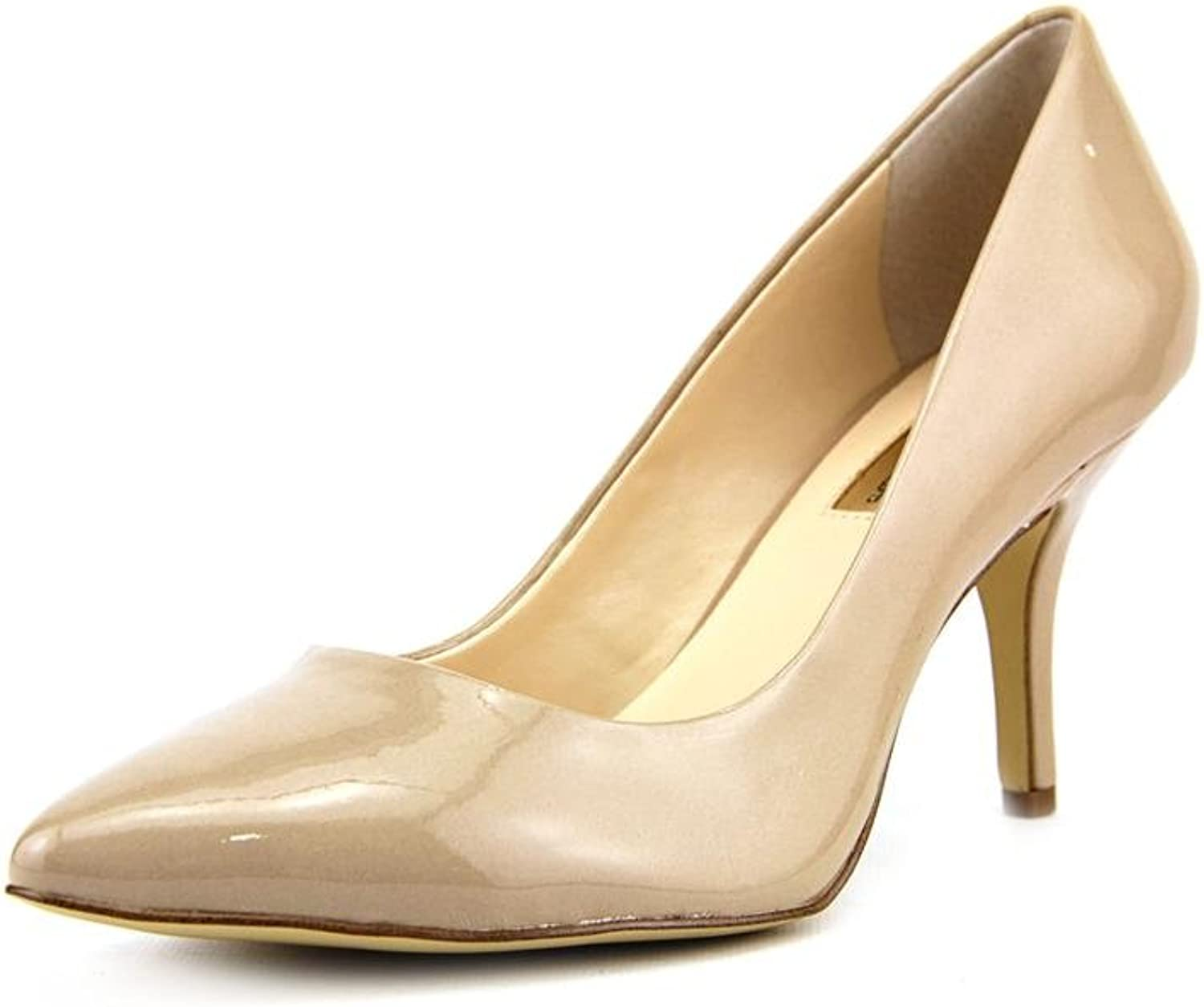 INC International Concepts Womens Zitah Leather Pointed Toe, Oatmeal, Size 10.0