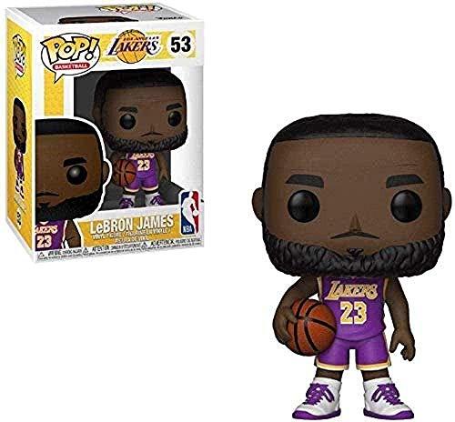 A-Generic Pop Vinyl Toy Super NBA: Spurs # 53 Lebron James No 23 Pop!