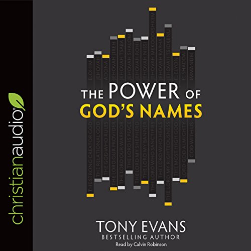 The Power of God's Names audiobook cover art