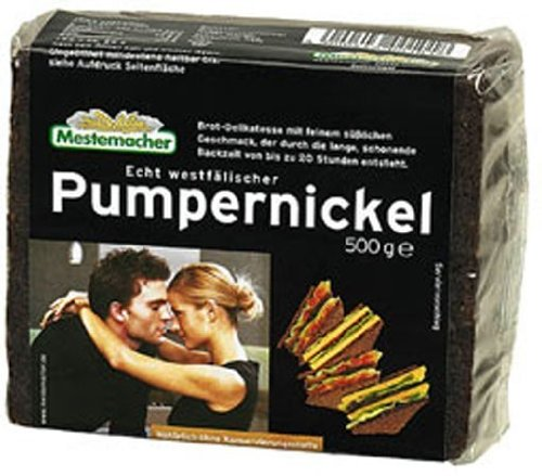 Mestemacher Echt Westfälischer Pumpernickel, 11er Pack (11 x 250 g)