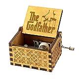 Caja de música Y&S de Star Wars en madera grabada con manivela manual. Caja de música Winter is Coming para regalo infantil, madera, Godfather