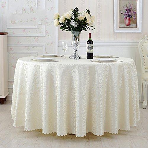 -Tovaglia domestica Tovaglia rotonda, ristorante dell'albergo tovaglia rotonda sala da pranzo tappeto da tavola tappeto da tavolino Impermeabile e antivegetativa ( Color : B , Size : Round-280cm )